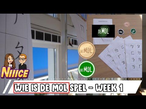 Fonkelnieuw WIE IS DE MOL SPEL VOOR IN DE KLAS - WEEK 1 - YouTube HS-32