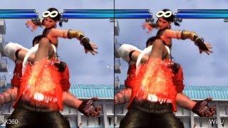 Tekken Tag Tournament 2 Wii U vs. Xbox 360 Comparison Video