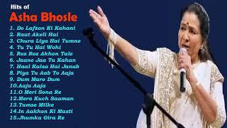 Asha Bhosle Hindi Bollywood Best Songs  Bollywood Collection
