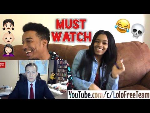 HILARIOUS Children interrupt BBC News interview REACTION!!!