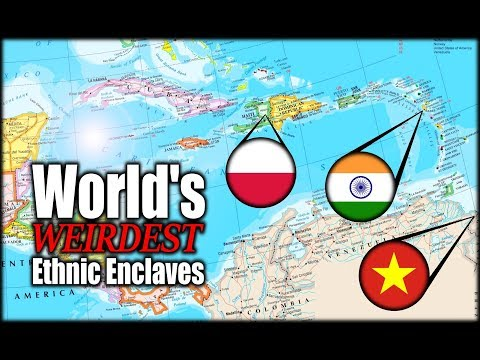 The World's Strangest Ethnic Enclaves