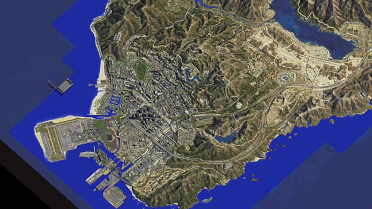 GTA 5 in Minecraft  35   Live map completely layed out   YouTube GTA 5 in Minecraft  35   Live map completely layed out