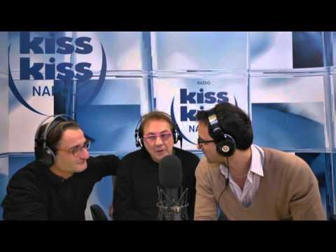 Tullio De Piscopo ospite a Radio Kiss Kiss Napoli