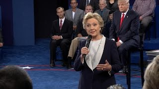 2nd PRESIDENTIAL DEBATE 2016: Clinton, Trump Respond to Question of Appropriate Behavior | ABC News