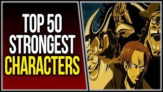 Top 50 Strongest One Piece Characters