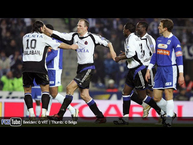 2005-2006 - Jupiler Pro League - 17. Racing Genk - Club Brugge 2-2