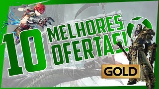 NÃO PERCA POR NADA! As 10 MELHORES OFERTAS da SEMANA na XBOX LIVE! DEALS WITH GOLD e MAIS!