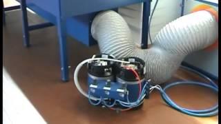 Оборудование для производсва мебели (Клеевое оборудование Eco mini)(Оборудование для нанесения двух компонентного водного клея. Производство Quarrata Fourniture., 2013-06-03T12:29:34.000Z)