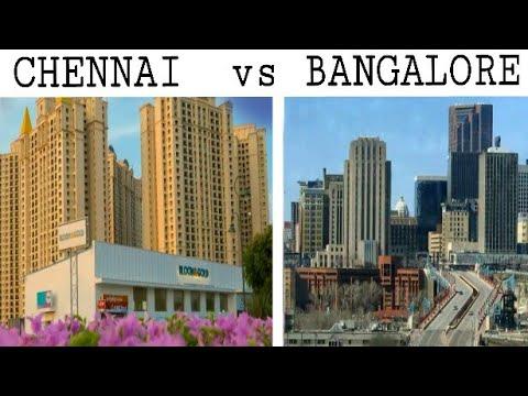 CHENNAI vs BANGALORE - Comparison  Chennai City -Tamilnadu  Bangalore City - Karnataka  Plenty Facts