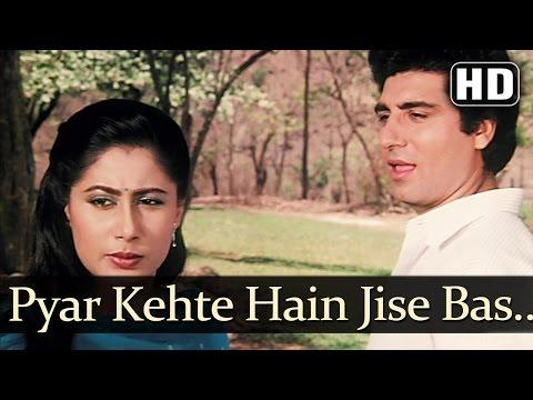 Pyar Kahte Hai Jise - Smita Patil - Raj Babbar - Angaaray - Kishore Kumar - Hindi Romantic Songs