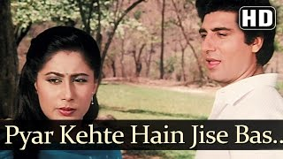 Pyar Kahte Hai Jise - Smita Patil - Raj Babbar - Angaaray - Kishore Kumar - Hindi Romantic Songs