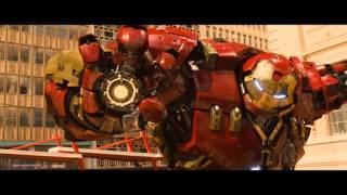 Hulk vs Iron Man Backwards