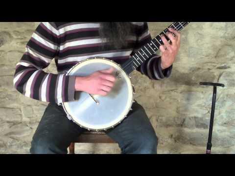 "Sam Hutchings 12"" Maple banjo"