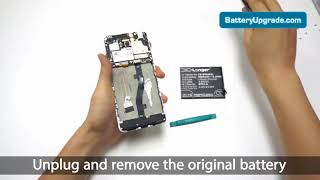 How to replace Cameron Sino battery CS MX680SL for MEIZU M681Q