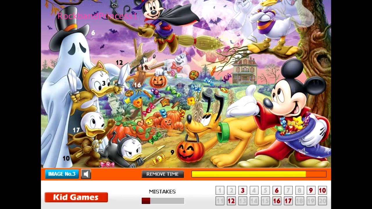mickey mouse online games mickey mouse hidden numbers game