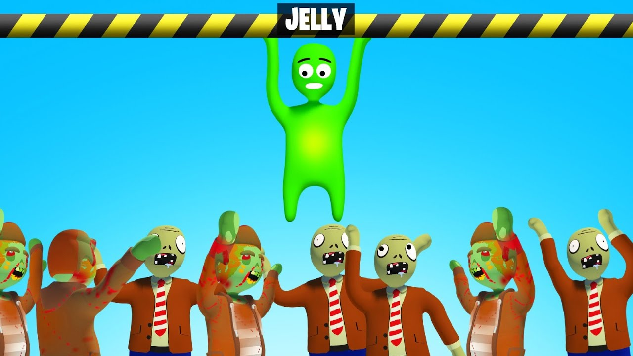 Download If You Let Go You Get EATEN By ZOMBIES... (Gang Beasts)