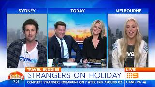 Travello's Own Real Life Crocodile Dundee Characters Live On The Today Show In Australia