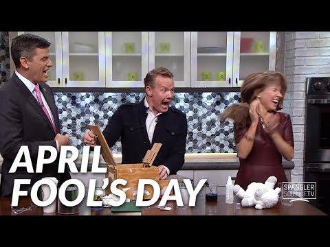 April Fool's Day Science Pranks with Steve Spangler on 9News