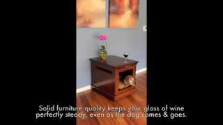 Strong And Sturdy Dog Crate Furniture
