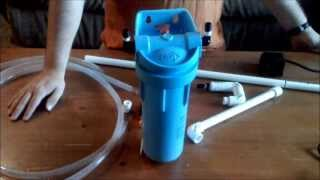 Homade Canister Filter