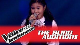 "Zahra ""Harmoni Cinta"" I The Blind Auditions I The Voice Kids Indonesia 2016"