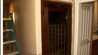 Residential Wine Closet Cabinets -- What Are They & How Easy Are They To Install?