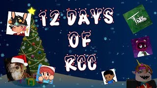 12 Days Of RCC (12 Days Of Christmas Roblox Parodie)