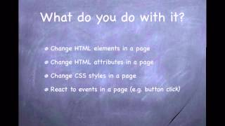 JavaScript - 23. Introduction to HTML DOM