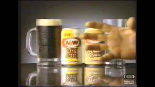 Diet A&W Root Beer Television Commercial 1991 Ron Luciano