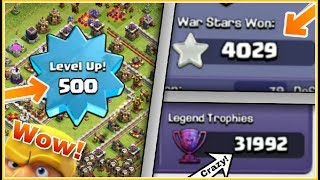 OPEN CHALLENGE : 5 Crazy Record's Made By Player's Which You Can Never Beat | COC HINDI