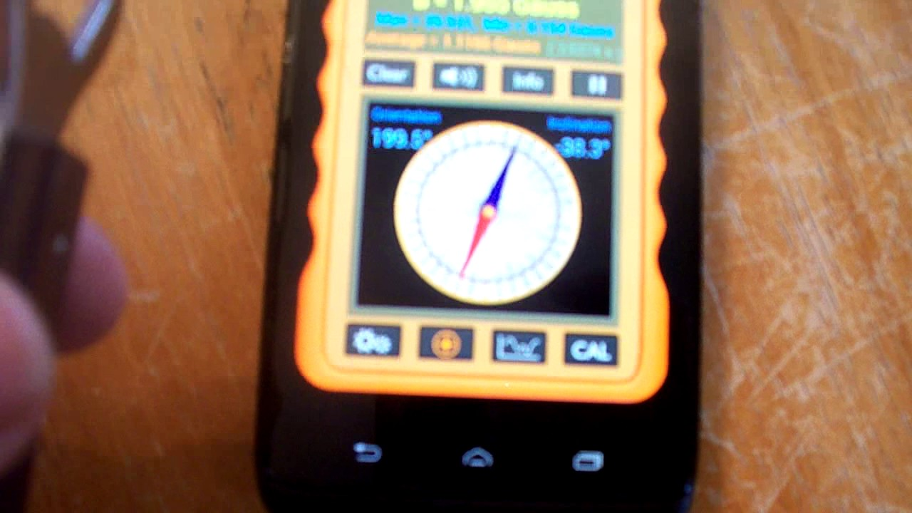 applications for the detection of magnet ios