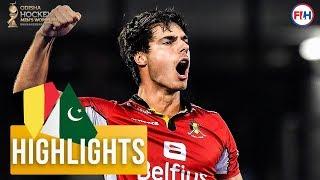 Belgium v Pakistan | Odisha Men's Hockey World Cup Bhubaneswar 2018 | HIGHLIGHTS