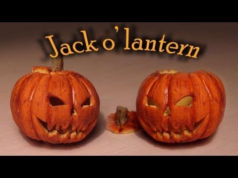 Halloween Polymer Clay Jack Lantern Tutorial