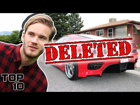 Top 10 Deleted YouTube Videos You Were NOT Supposed To See