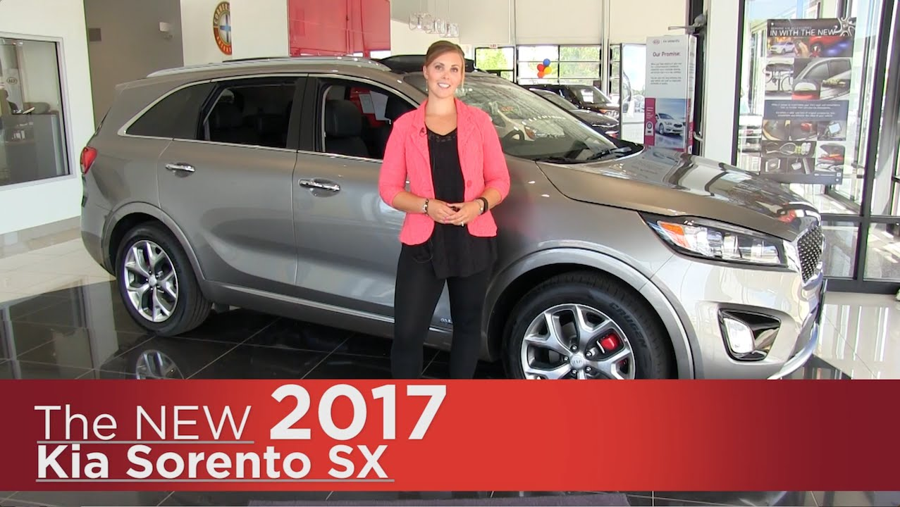 The New 2017 Kia Sorento Sx Elk River Brooklyn Park Minneapolis