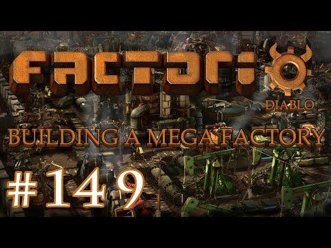 Factorio - Building a Mega Factory: Part 149 Improving Steel Production