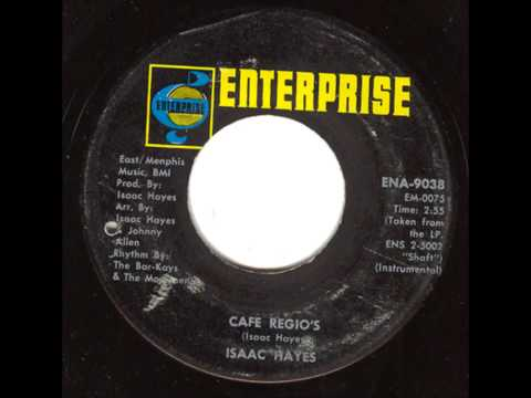 Isaac Hayes   Cafe Regio's