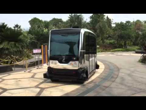 Garden By The Bay Bus auto rider demo @ gardensthe bay - youtube