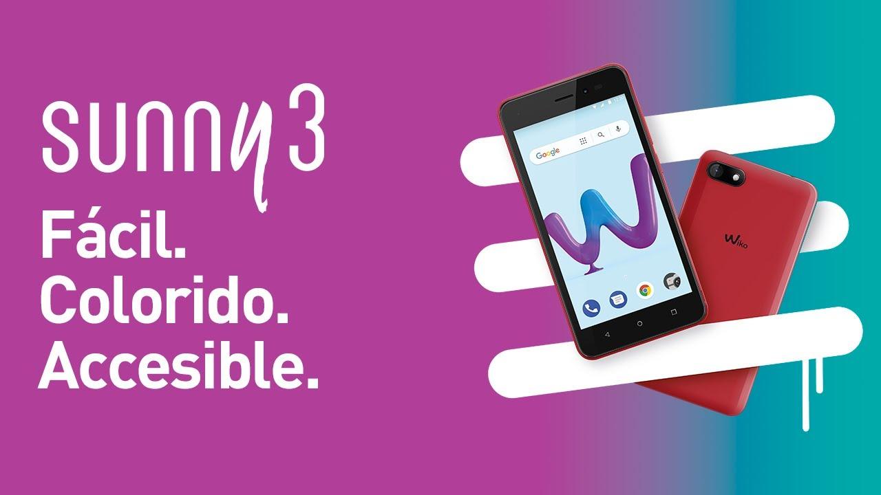 Wiko Sunny3: características, ficha técnica con fotos y precio