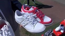 Puman kengät ja vaatteet Golfarin ihasteltavina