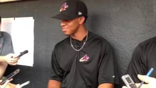 Francisco Lindor on his goals at Double-A