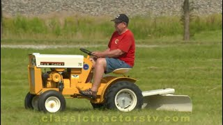 Cub Cadet - Short on storage space?  Check out the 1964 International Harvester Cub Cadet Model 70