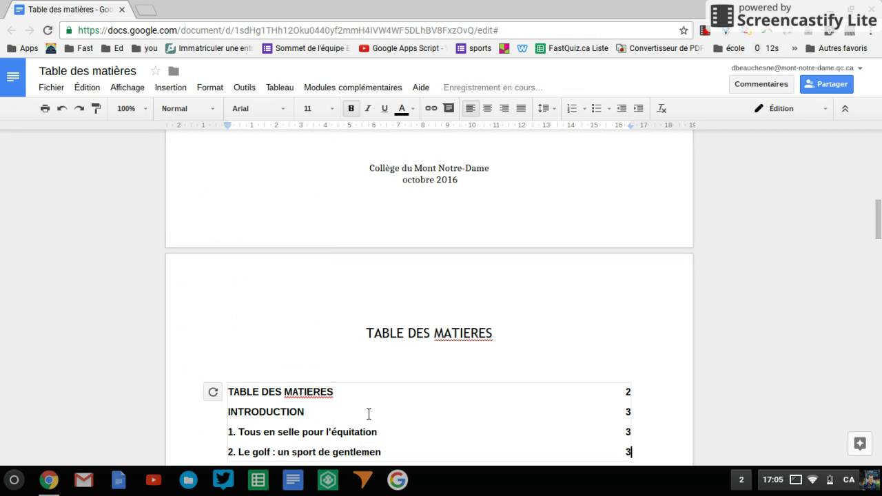 how to add page numbers in google docs video