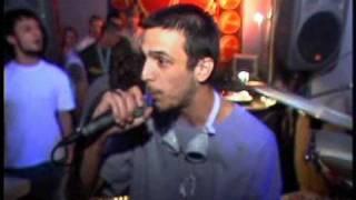 UNU' Vs . Dj Dox, Vexatu Vexx, & Ati -  Live @ Web Club summer 2003