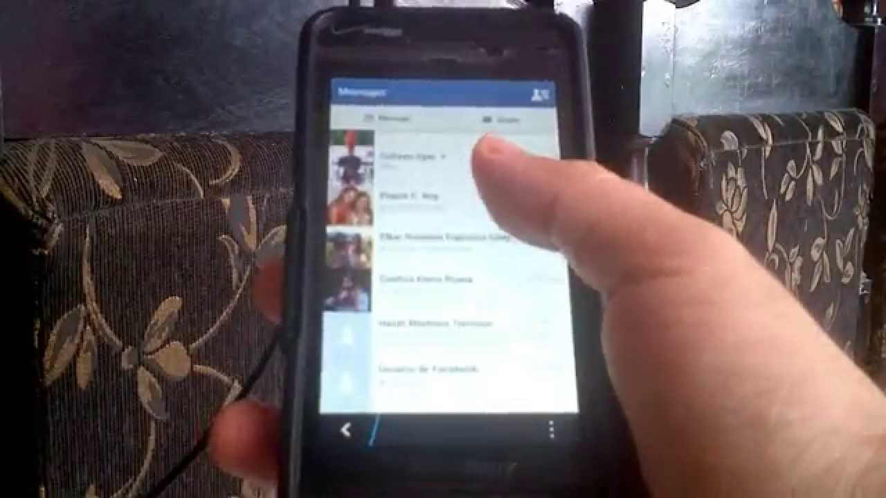 FaceBook Messenger Gratis Para BlackBerry 10 (Q5, Q10, Z10, Z30) Sneak Peek