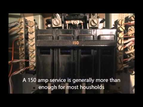 Windsor Locks CT Home Inspections -150 Amp Electrical Service