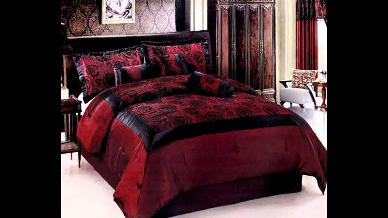 awesome gothic bedroom decorating ideas youtube. Black Bedroom Furniture Sets. Home Design Ideas