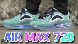 sports shoes c52f1 7c9f4 Nike AIR MAX 720 First Impressions Review!