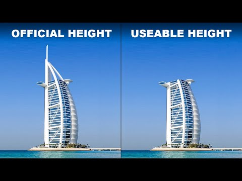 The World's Tallest Buildings Are Shorter Than You Think | The B1M