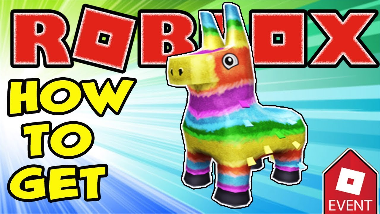 2cbc91cb7c7 EVENT  HOW TO GET THE PINATA HAT PIZZA PARTY EVENT IN ROBLOX - YouTube